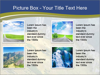 Rock on Tatra Mountains PowerPoint Template - Slide 14