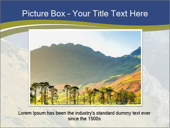 Rock on Tatra Mountains PowerPoint Template - Slide 15