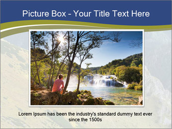 Rock on Tatra Mountains PowerPoint Template - Slide 16