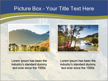Rock on Tatra Mountains PowerPoint Template - Slide 18