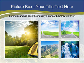 Rock on Tatra Mountains PowerPoint Template - Slide 19