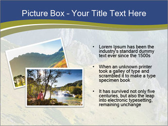 Rock on Tatra Mountains PowerPoint Template - Slide 20