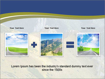 Rock on Tatra Mountains PowerPoint Template - Slide 22