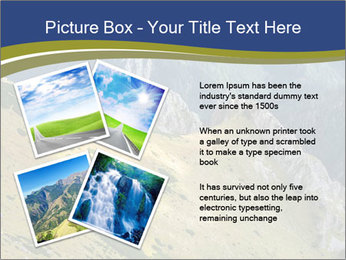 Rock on Tatra Mountains PowerPoint Template - Slide 23