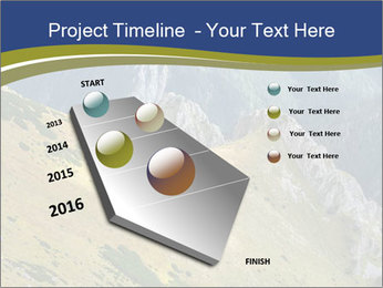 Rock on Tatra Mountains PowerPoint Template - Slide 26