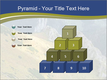 Rock on Tatra Mountains PowerPoint Template - Slide 31