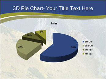 Rock on Tatra Mountains PowerPoint Template - Slide 35