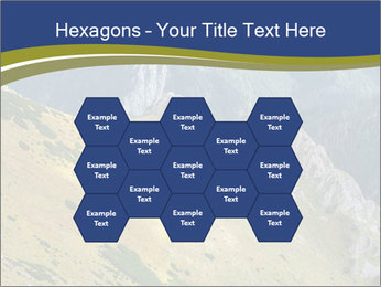 Rock on Tatra Mountains PowerPoint Template - Slide 44