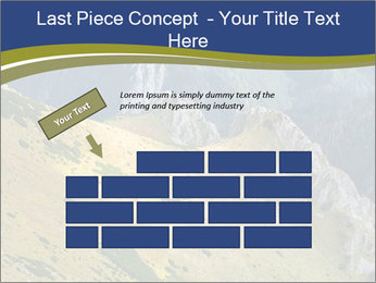Rock on Tatra Mountains PowerPoint Template - Slide 46