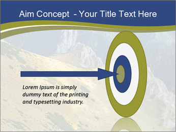 Rock on Tatra Mountains PowerPoint Template - Slide 83