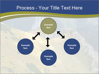 Rock on Tatra Mountains PowerPoint Template - Slide 91