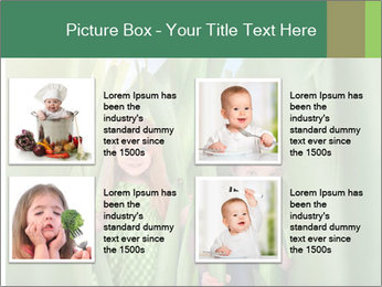 The girl and boy look happy PowerPoint Templates - Slide 14