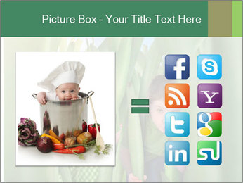 The girl and boy look happy PowerPoint Templates - Slide 21