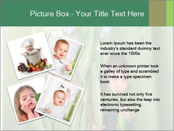 The girl and boy look happy PowerPoint Templates - Slide 23