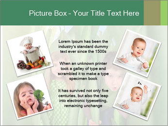 The girl and boy look happy PowerPoint Templates - Slide 24