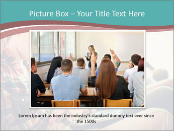 Group of students preparing for exams PowerPoint Template - Slide 15