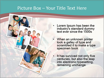 Group of students preparing for exams PowerPoint Template - Slide 17
