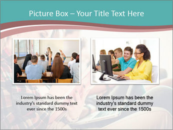 Group of students preparing for exams PowerPoint Template - Slide 18