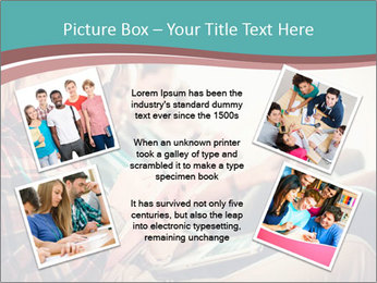 Group of students preparing for exams PowerPoint Template - Slide 24