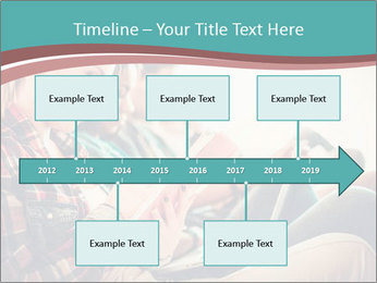 Group of students preparing for exams PowerPoint Template - Slide 28