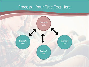 Group of students preparing for exams PowerPoint Templates - Slide 91