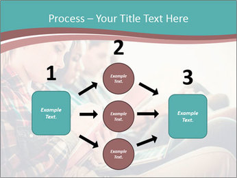 Group of students preparing for exams PowerPoint Template - Slide 92