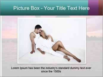 Little and Big couple and the sunset PowerPoint Template - Slide 15