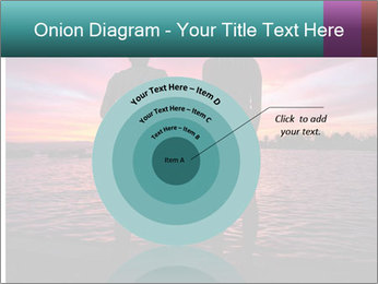 Little and Big couple and the sunset PowerPoint Template - Slide 61