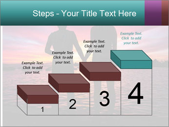 Little and Big couple and the sunset PowerPoint Template - Slide 64