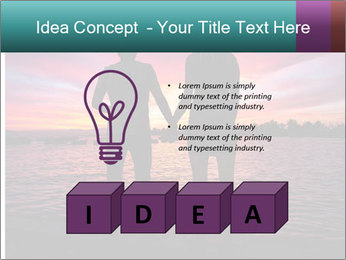 Little and Big couple and the sunset PowerPoint Template - Slide 80