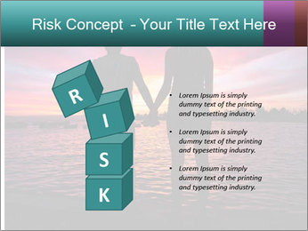 Little and Big couple and the sunset PowerPoint Template - Slide 81