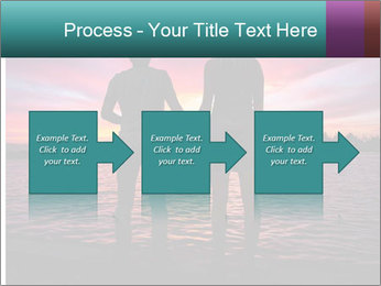 Little and Big couple and the sunset PowerPoint Template - Slide 88