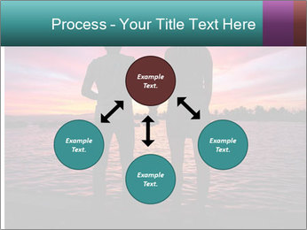 Little and Big couple and the sunset PowerPoint Template - Slide 91