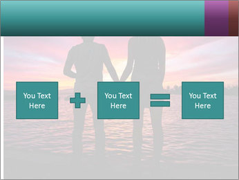 Little and Big couple and the sunset PowerPoint Template - Slide 95
