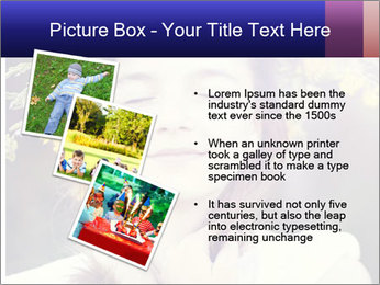 Little girl dreaming PowerPoint Template - Slide 17