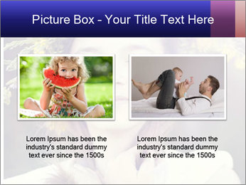 Little girl dreaming PowerPoint Template - Slide 18
