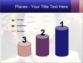 Little girl dreaming PowerPoint Template - Slide 65