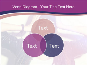 Closeup studio shot of pretty hipster teenage girl PowerPoint Templates - Slide 33