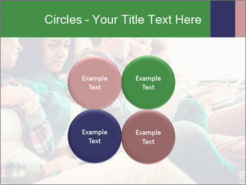 Group of young students preparing for exams r PowerPoint Template - Slide 38