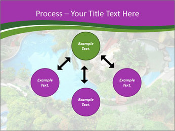 Palm and Swimming pool PowerPoint Templates - Slide 91