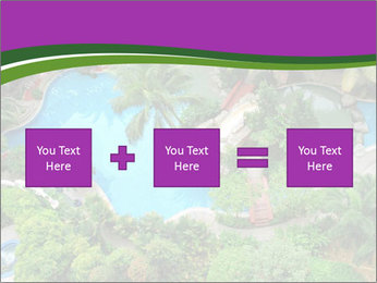 Palm and Swimming pool PowerPoint Template - Slide 95