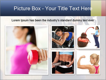 Fitness woman in training PowerPoint Template - Slide 19
