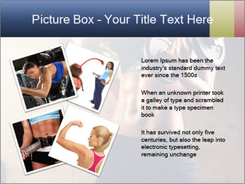 Fitness woman in training PowerPoint Template - Slide 23