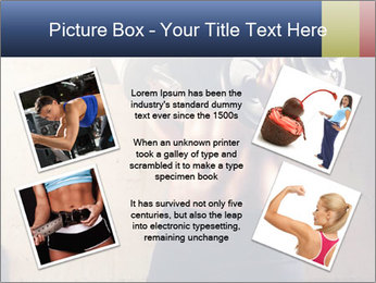 Fitness woman in training PowerPoint Template - Slide 24