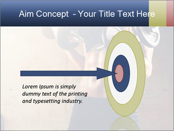 Fitness woman in training PowerPoint Template - Slide 83