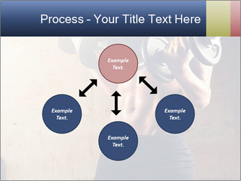 Fitness woman in training PowerPoint Template - Slide 91