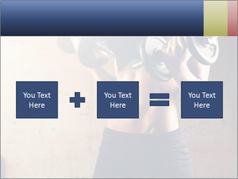 Fitness woman in training PowerPoint Template - Slide 95