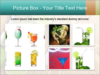 Classic margarita cocktail PowerPoint Templates - Slide 19