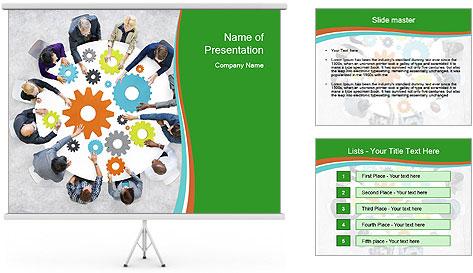 Teamwork Concept PowerPoint Template