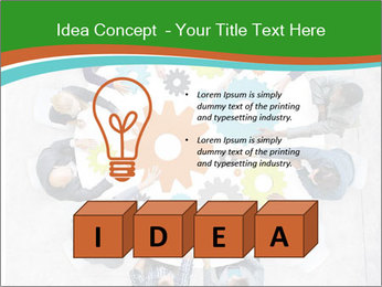Teamwork Concept PowerPoint Template - Slide 80